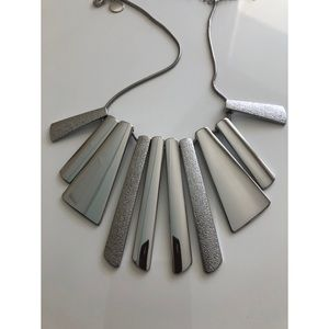 WHBM Silver Tone Necklace